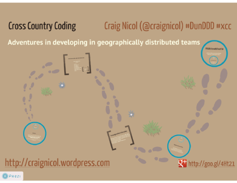 Cross Country Coding Prezi Slides